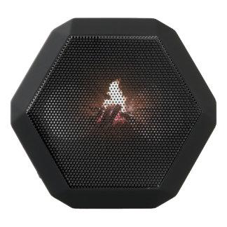 Auto-falante do poço do fogo caixa de som preta com bluetooth