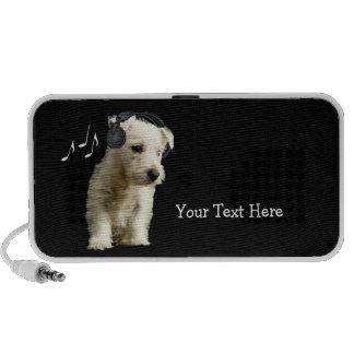 Auto-falante portátil customizável #2 do filhote d caixinhas de som para pc
