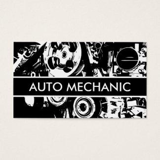 Auto mecânico cartão de visita