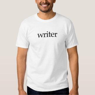 Auto-Promo do escritor Camisetas