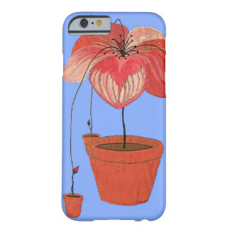 Auto-Semeando plantas Potted Capa Barely There Para iPhone 6