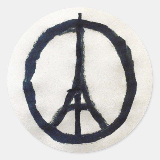 Autocolante de apoio a França
