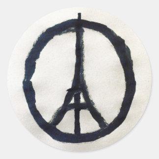 Autocolante de apoio a França Adesivo