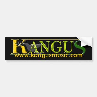 Autocolante no vidro traseiro 2 de KANGUS Adesivo Para Carro