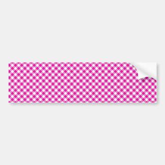 Autocolante no vidro traseiro cor-de-rosa do fundo adesivo para carro