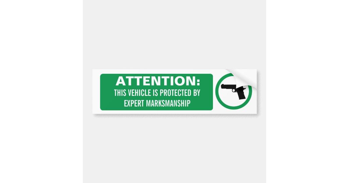 Armario Embutido Quarto Pequeno ~ Autocolante no vidro traseiro da arma de fogo da a adesivo para carro Zazzle
