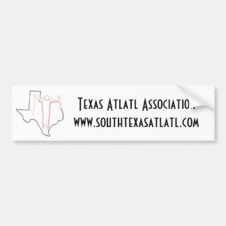 Autocolante no vidro traseiro da associação de Tex Adesivo Para Carro