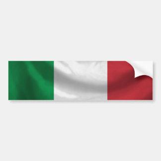 Autocolante no vidro traseiro da bandeira de Itali Adesivo Para Carro