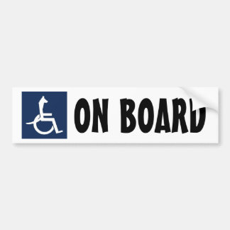 Autocolante no vidro traseiro da cadeira de rodas adesivo para carro