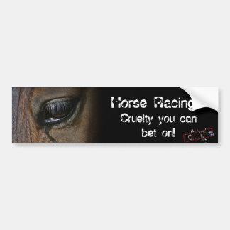 Autocolante no vidro traseiro da corrida de cavalo adesivo para carro