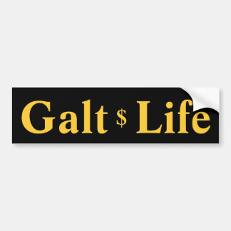Autocolante no vidro traseiro da vida de Galt Adesivos