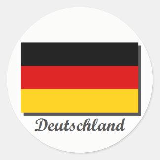 Autocolante no vidro traseiro de Alemanha