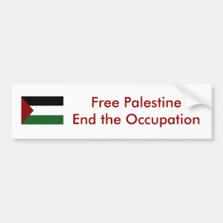 Autocolante no vidro traseiro de Palestina Adesivo Para Carro