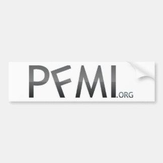 Autocolante no vidro traseiro de PFMI Adesivo Para Carro