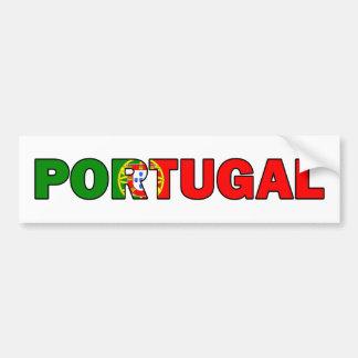 Autocolante no vidro traseiro de Portugal Adesivo De Para-choque