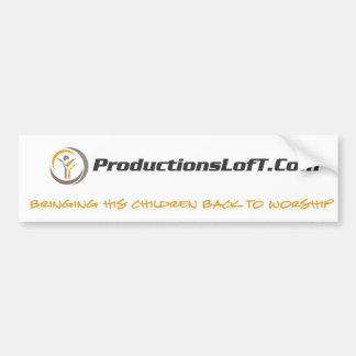 Autocolante no vidro traseiro de ProductionsLofT Adesivo Para Carro