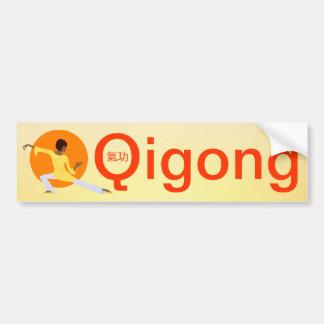 Autocolante no vidro traseiro de Qigong Adesivo Para Carro