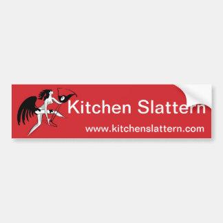 Autocolante no vidro traseiro de Slattern da cozin Adesivo Para Carro