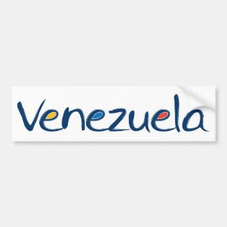 Autocolante no vidro traseiro de Venezuela Adesivo Para Carro