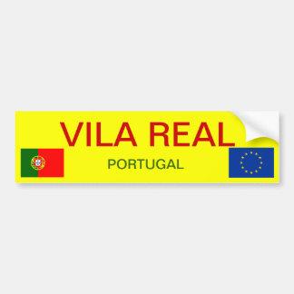 Autocolante no vidro traseiro de Vila Real Adesivo Para Carro