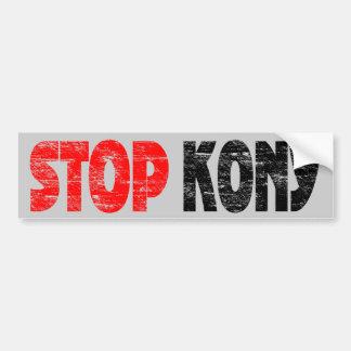 Autocolante no vidro traseiro desvanecido de Kony  Adesivo Para Carro