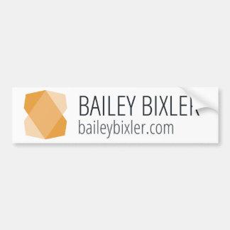 Autocolante no vidro traseiro do design de Bailey Adesivo Para Carro