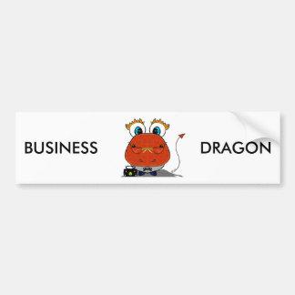Autocolante no vidro traseiro do dragão do negócio adesivo para carro