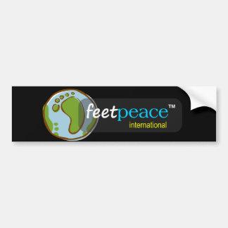 autocolante no vidro traseiro do feetpeace™ adesivo para carro