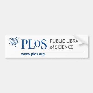 Autocolante no vidro traseiro do logotipo de PLoS Adesivo