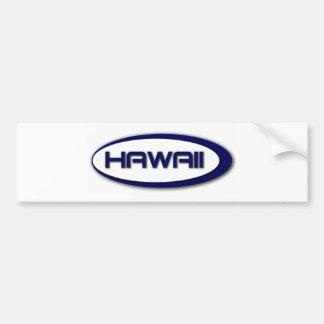 Autocolante no vidro traseiro do Oval de Havaí Adesivos