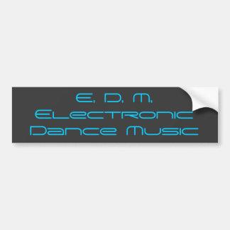 Autocolante no vidro traseiro eletrônico da música adesivo para carro