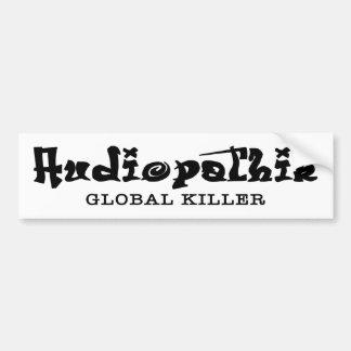 Autocolante no vidro traseiro global do assassino  adesivo para carro