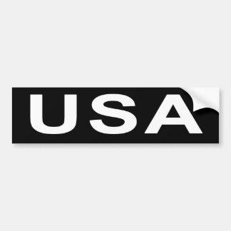 Autocolante no vidro traseiro que diz EUA Adesivo Para Carro