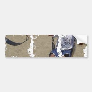 Autocolante no vidro traseiro sujo da foto adesivo para carro