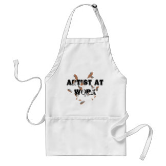 Avental Artesanatos dos artistas do estúdio da arte que