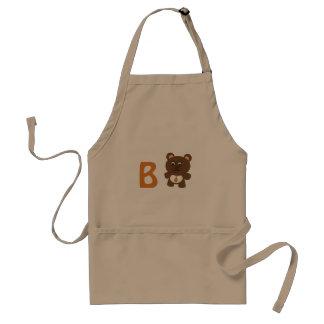 Avental B - Urso