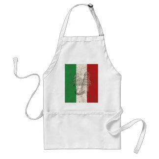 Avental Bandeira e símbolos de Italia ID157