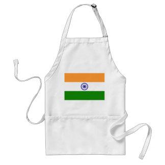 Avental Bandeira nacional do mundo de India