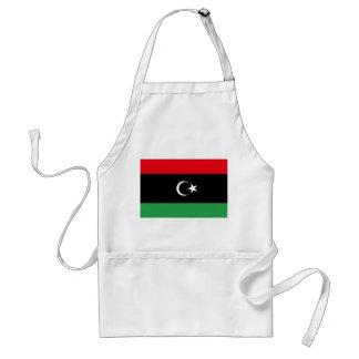 Avental Bandeira nacional do mundo de Líbia