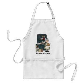 Avental da cozinha de Nana
