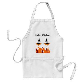 Avental da cozinha do inferno