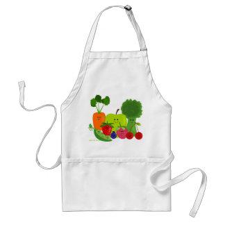 Avental das frutas e legumes