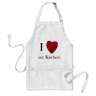Avental de cozinha j love my kitchen