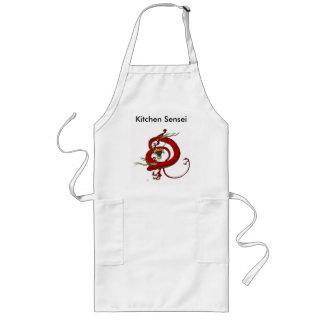 Avental de Sensei da cozinha