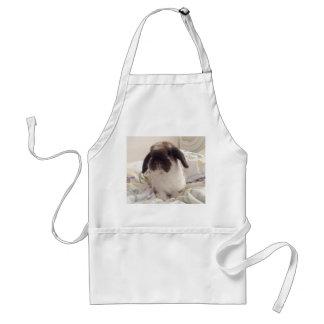 Avental Deixe este ajudante peludo cozinhar com você