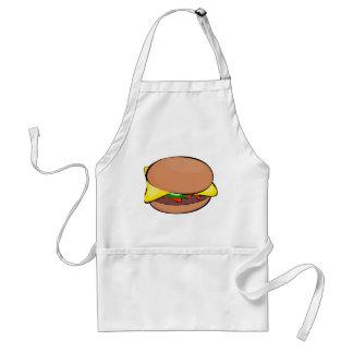 Avental Desenhos animados do cheeseburger