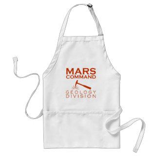 Avental Divisão da geologia do comando de Marte