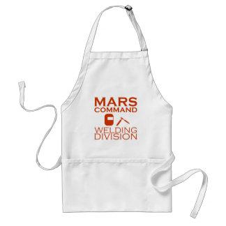 Avental Divisão da soldadura do comando de Marte