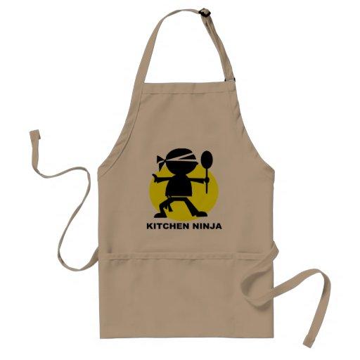 Avental do CHURRASCO de Ninja da cozinha