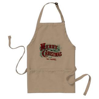 Avental do cozinhar do Natal de Ives